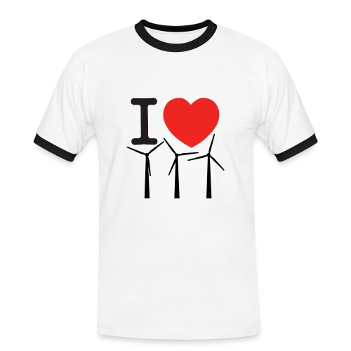 I love turbines t-shirt - Men's Ringer Shirt