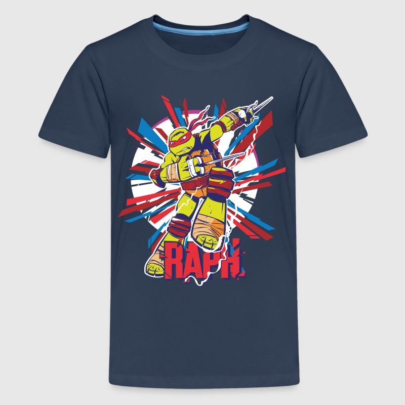 TMNT Turtles Raph Im Kampf - Teenager Premium T-Shirt
