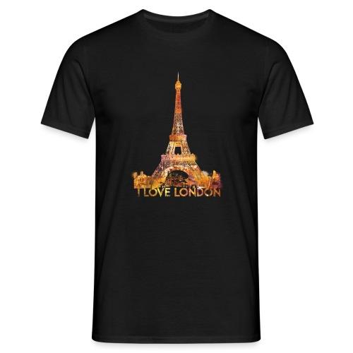 I love London 2 mannen t-shirt - Mannen T-shirt
