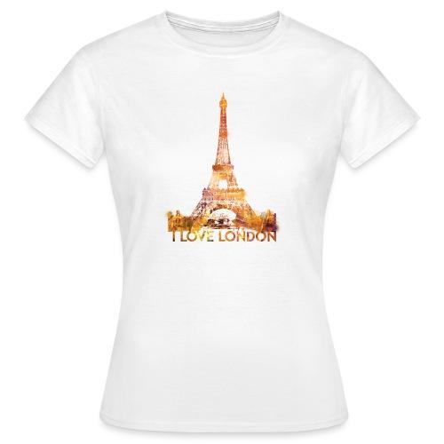 I love London 2 vrouwen t-shirt - Vrouwen T-shirt