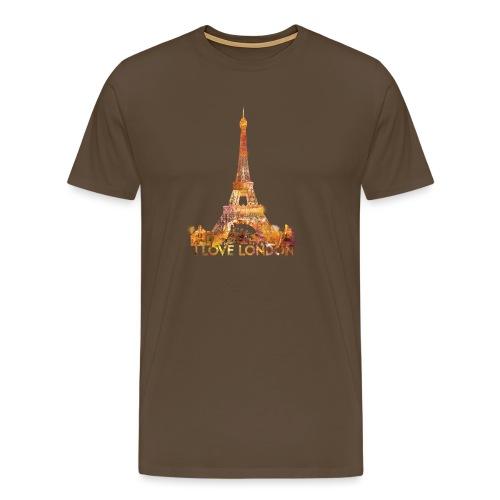 I love London 2 mannen premium - Mannen Premium T-shirt