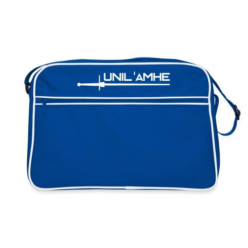Sac rétro avec logo Unil'AMHE - Sac Retro