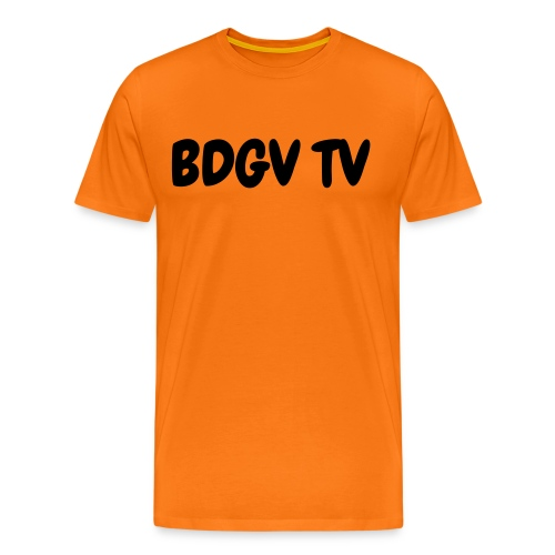 mens orange shirt - Men's Premium T-Shirt