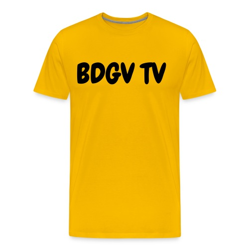 mens yellow shirt - Men's Premium T-Shirt