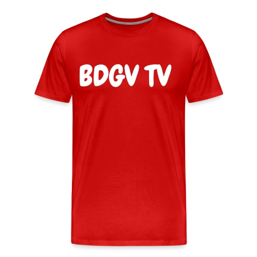 mens red shirt - Men's Premium T-Shirt