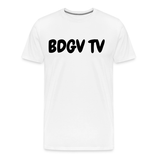 mens white shirt - Men's Premium T-Shirt