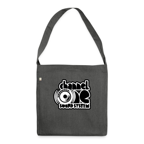 Channel One tote bag - Shoulder Bag made from recycled material