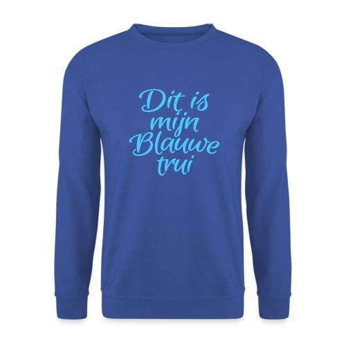 Blauwe trui mannen sweater Russel - Mannen sweater