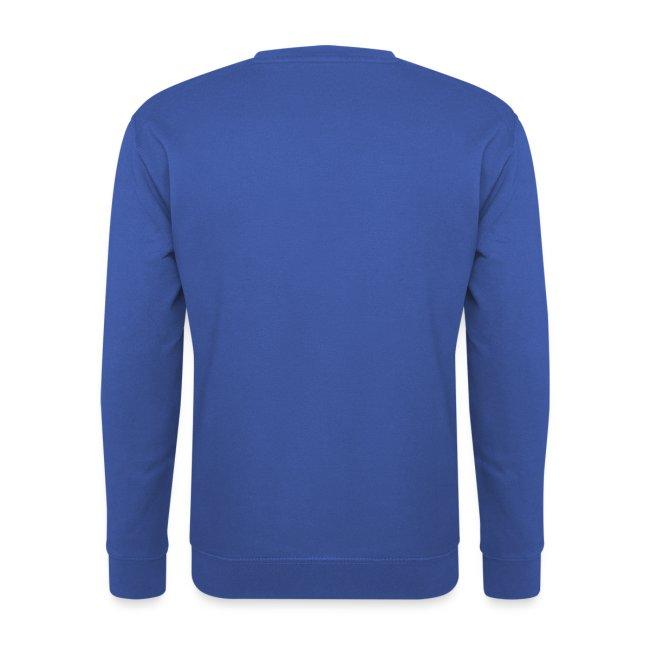 Blauwe trui mannen sweater Russel