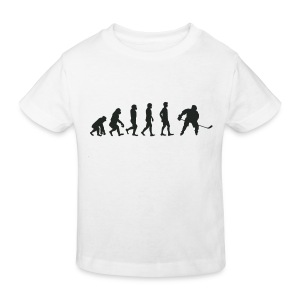 Evolution de hockey sur glace Tee shirts - T-shirt Bio Enfant