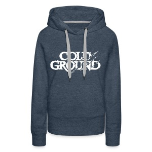 COLD GROUND - Frozen - Sweat-shirt à capuche Premium pour femmes