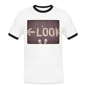 Look...Left! - T-shirt contrasté Homme