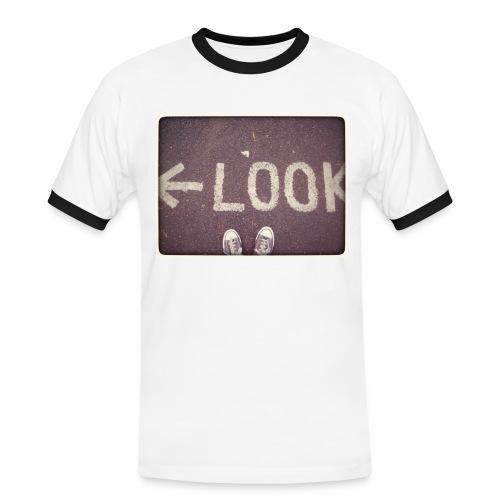 Look...Left! - T-shirt contrasté Homme