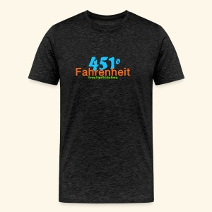 Farenheit 451 - Men's Premium T-Shirt