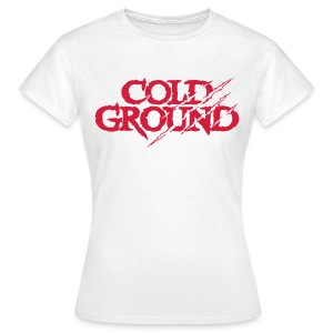COLD GROUND - Classic White - T-shirt Femme