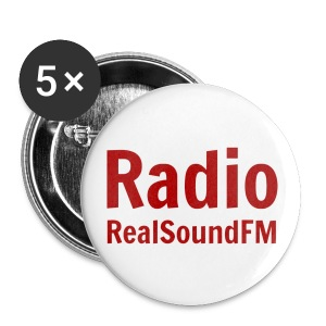 RealSoundFM Pins - Buttons klein 25 mm
