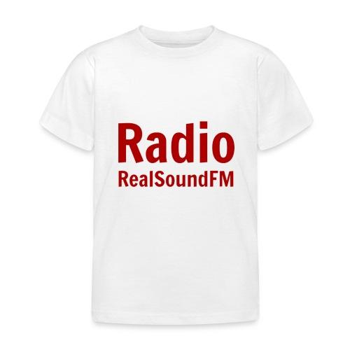 RealSoundFM  Kinder Shirt - Kinder T-Shirt