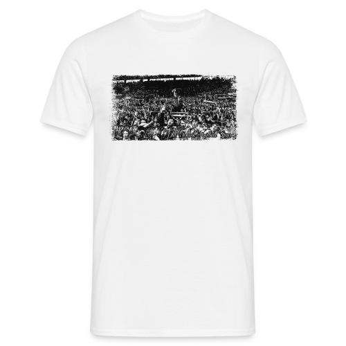 T-shirt Old School Football Fans - T-shirt Homme
