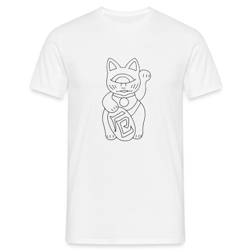Manekineko Shirt - Miesten t-paita