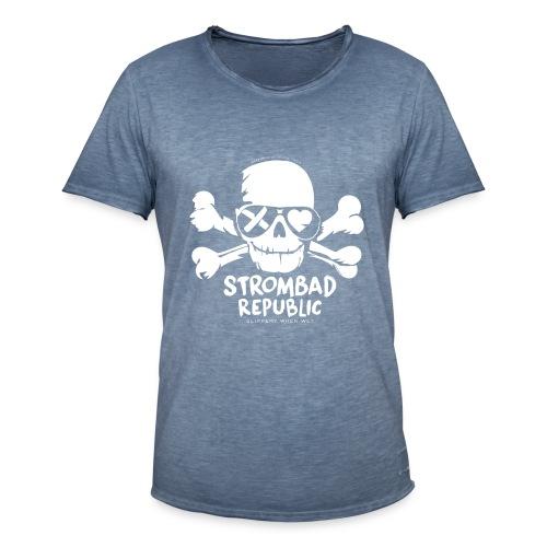 Strombad Pirat Vintage - Männer Vintage T-Shirt