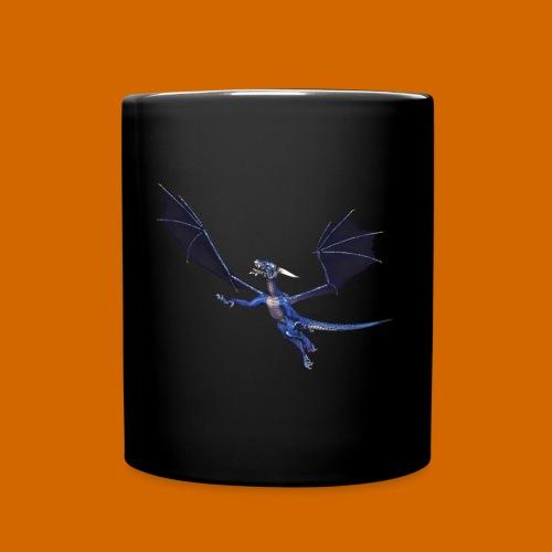 Tasse mit Drachen - Tasse einfarbig