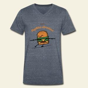 L'équilibre alimentaire - T-shirt bio col V Stanley & Stella Homme