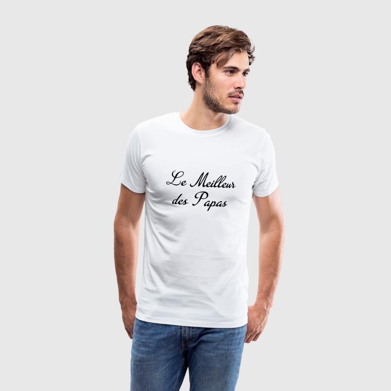 tee shirt papa f te des p res famille p re enfant spreadshirt. Black Bedroom Furniture Sets. Home Design Ideas
