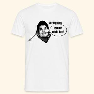 Ich bin nicht fett Shirt - Männer T-Shirt