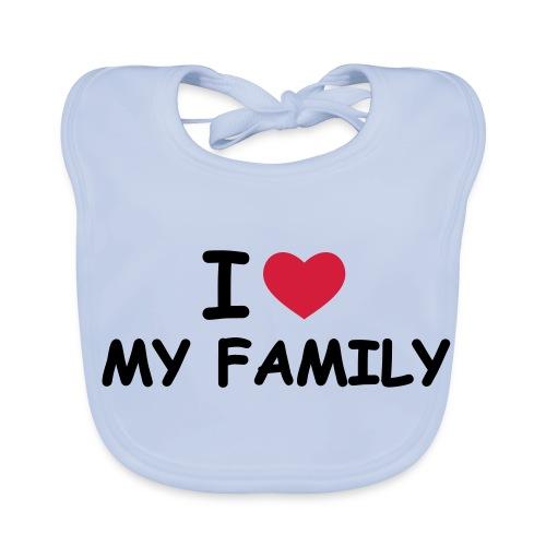 my family - Baby Organic Bib