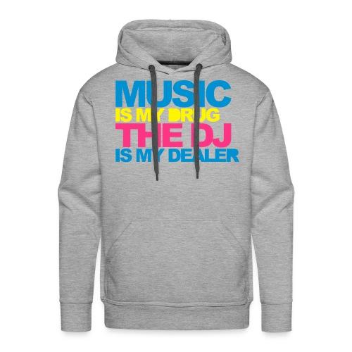 music - Men's Premium Hoodie