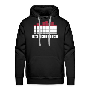 I am a DJ not a Jukebox - Mannen Premium hoodie