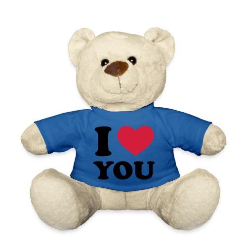 i love you teddy - Teddy Bear