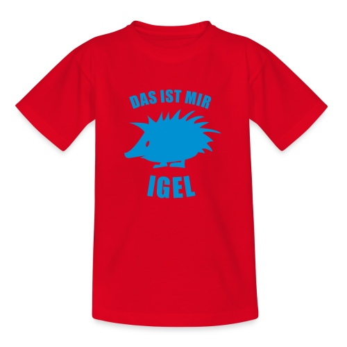Igel 1 - Teenager T-Shirt