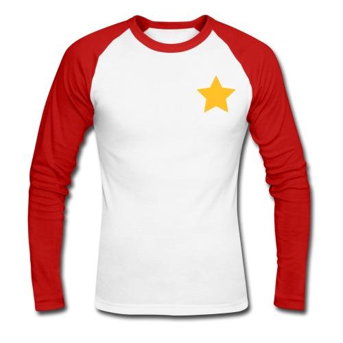 The Official Premium Club  Shirt (Male) - Men's Long Sleeve Baseball T-Shirt