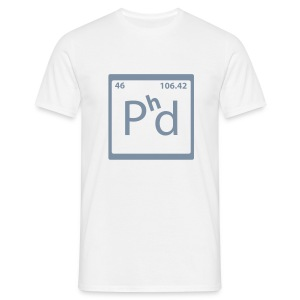 PhD - Men's T-Shirt