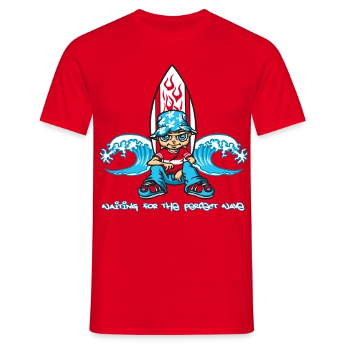 The perfect wave - Men's T-Shirt