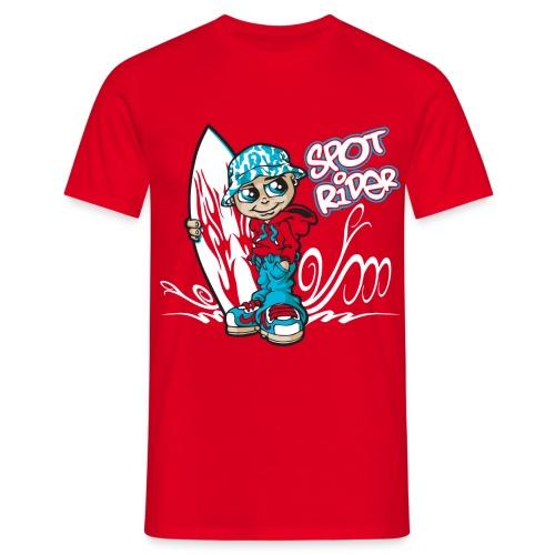 Spot rider - Men's T-Shirt