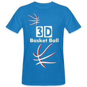 3D Basket Ball - T-shirt bio Homme