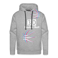 Sweat-shirts ~ Sweat-shirt à capuche Premium pour hommes ~ 3D Basket Ball sweatshirt