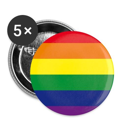 "Gay Anstecker ""Regenbogen"" 25 mm - Buttons klein 25 mm"