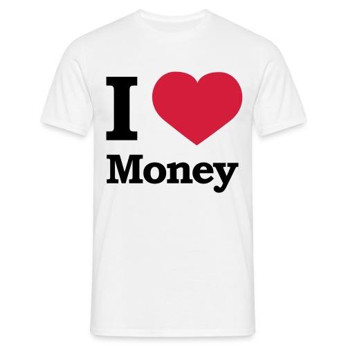 J'adore l'argent - T-shirt Homme