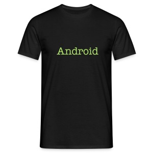 Tee shirt, Android, man - Men's T-Shirt