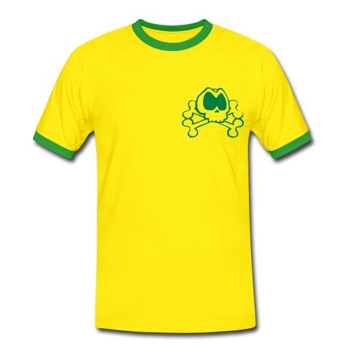 Skully Football 'T' - Men's Ringer Shirt