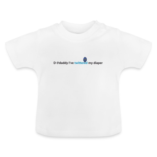Direct message @daddy - Baby T-shirt