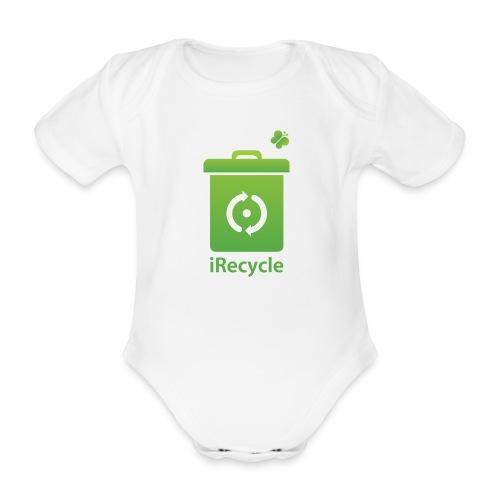 iRecycle - Baby bio-rompertje met korte mouwen
