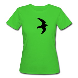 Greifvogel-Silhouetten - Frauen Bio-T-Shirt