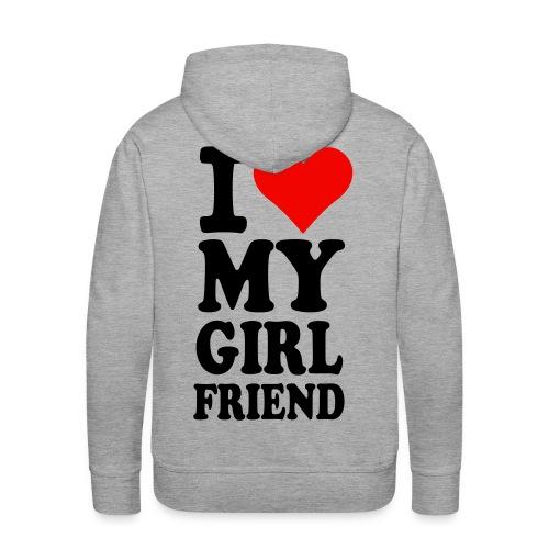 I♥my Girlfriend - Männer Premium Hoodie
