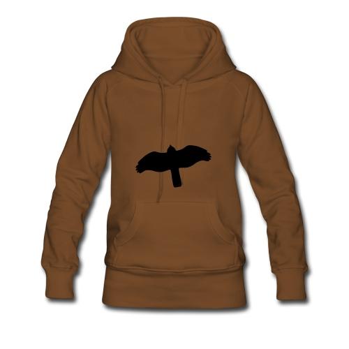 Greifvogel-Silhouetten - Frauen Premium Hoodie