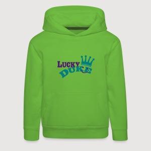LUCKY DUKE | Kinder Kapuzensweatshirt - Kinder Premium Hoodie