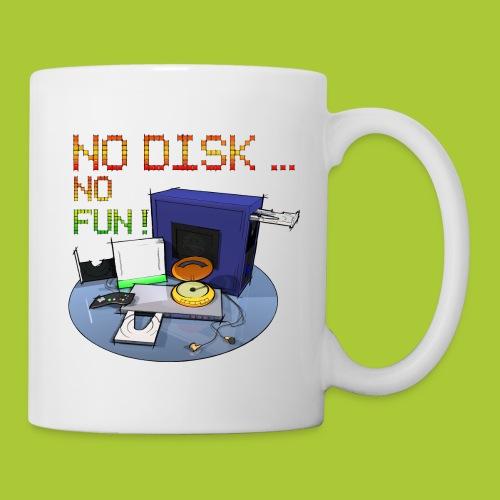 No Disk - No Fun - DIGITAL - Tasse